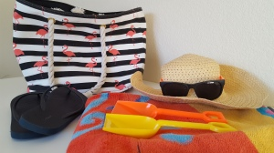 beach bag props