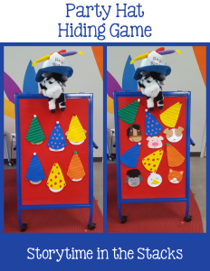 party hat hiding game