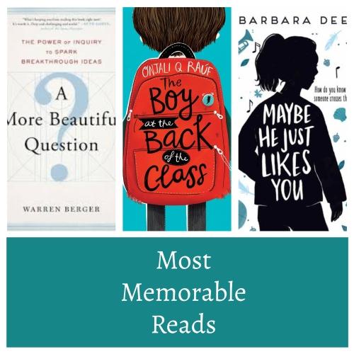 2019 reading memorable