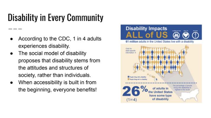 disability slide