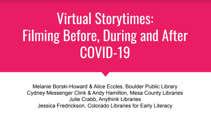 virtual storytime capture