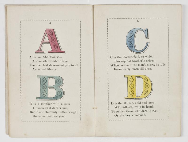 anti slavery alphabet